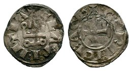 CRUSADERS, Antioch, 1149-1163. AR Denier  Condition: Very Fine  Weight: 0.73 gr Diameter: 19 mm