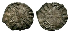 CRUSADERS, Antioch. Bohémond III. Minority, 1149-1163. AR Denier  Condition: Very Fine  Weight: 0.60 gr Diameter: 15 mm