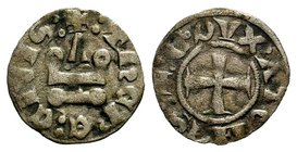 CRUSADERS, Antioch. 1149-1163. AR Denier  Condition: Very Fine  Weight: 0.60 gr Diameter: 17 mm