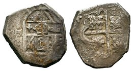 Spanish Empire. Philip IV (AD 1621-1665) AR   Condition: Very Fine  Weight: 6.71 gr Diameter: 22 mm