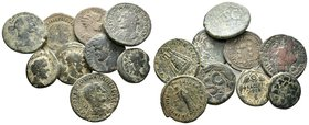 Lot of 9 Roman Coins.   Condition: Very Fine  Weight: LOT Diameter: