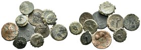 Lot of 10 Greek Coins.   Condition: Very Fine  Weight: LOT Diameter: