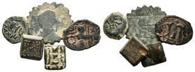 Lot of mixed coin and weights   Condition: Very Fine  Weight: LOT Diameter: