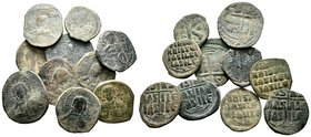 Lot of 10 Byzantine Coins.   Condition: Very Fine  Weight: LOT Diameter: