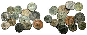 Lot of 13 Roman Coins.   Condition: Very Fine  Weight: LOT Diameter:
