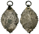 İslamic Pendant,  Condition: Very Fine  Weight: 3.73 gr Diameter: 47.88 mm