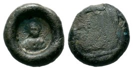 Ancient Byzantine Object,  Condition: Very Fine  Weight: 2.08 gr Diameter: 19.95 mm