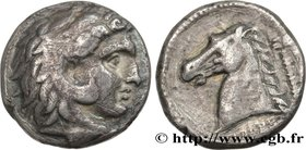 SICILY - SICULO-PUNIC - LILYBAION Type : Tétradrachme  Date : c. 325 AC.  Mint name / Town : Machanat (Le Camp), Lilybée  Metal : silver  Diameter : 2...