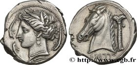 SICILY - ENTELLA Type : Tétradrachme  Date : c. 320/315 - 305/300 AC.  Mint name / Town : Entella, Sicile  Metal : silver  Diameter : 27  mm Orientati...