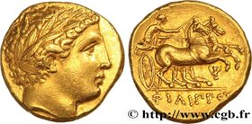 MACEDONIA - MACEDONIAN KINGDOM - PHILIP II Type : Statère d'or  Date : c. 340-328 AC.  Mint name / Town : Pella, Macédoine  Metal : gold  Diameter : 1...