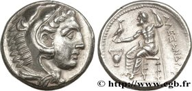 MACEDONIA - MACEDONIAN KINGDOM - ALEXANDER III THE GREAT Type : Tétradrachme  Date : c. 330-325 AC.  Mint name / Town : Amphipolis, Macédoine  Metal :...