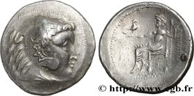 DANUBIAN CELTS - IMITATIONS OF THE TETRADRACHMS OF ALEXANDER III AND HIS SUCCESSORS Type : Tétradrachme  Date : c. IIe siècle AC.  Mint name / Town : ...