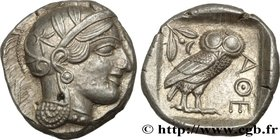 ATTICA - ATHENS Type : Tétradrachme  Date : c. 430 AC.  Mint name / Town : Athènes  Metal : silver  Diameter : 25  mm Orientation dies : 9  h. Weight ...