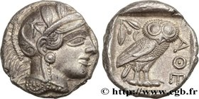ATTICA - ATHENS Type : Tétradrachme  Date : c. 420 AC.  Mint name / Town : Athènes  Metal : silver  Diameter : 24,5  mm Orientation dies : 1  h. Weigh...