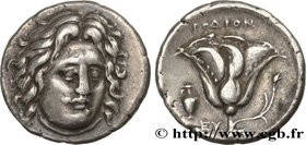 CARIA - CARIAN ISLANDS - RHODES Type : Didrachme  Date : c. 305-274 AC.  Mint name / Town : Rhodes, Carie  Metal : silver  Diameter : 20  mm Orientati...