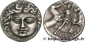 PLAUTIA Type : Denier  Date : 47 AC.  Mint name / Town : Rome  Metal : silver  Millesimal fineness : 950  ‰ Diameter : 18  mm Orientation dies : 6  h....