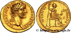 TIBERIUS Type : Aureus  Date : c. 27-30  Mint name / Town : Lyon  Metal : gold  Millesimal fineness : 1000  ‰ Diameter : 19  mm Orientation dies : 7  ...