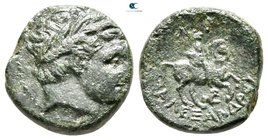 Kings of Macedon. Uncertain mint in Macedon. Kassander 306-297 BC. Bronze Æ