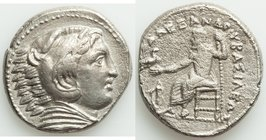 MACEDONIAN KINGDOM. Alexander III the Great (336-323 BC). AR tetradrachm (24mm, 16.32 gm, 11h). good VF. Early posthumous issue of 'Amphipolis', by An...