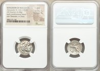 MACEDONIAN KINGDOM. Alexander III the Great (336-323 BC). AR drachm (19mm, 4.28 gm, 9h). NGC MS 5/5 - 4/5. Posthumous issue of Abydus, ca. 310-301 BC....