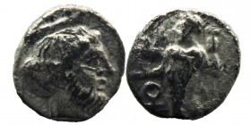 CILICIA, Tarsos. Tiribazos. Satrap of Lydia, 388-380 BC. AR Obol