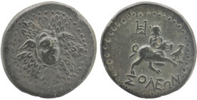 CILICIA. Soloi. Circa 100-30 BC. AE