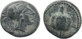 PAMPHYLIA. Side. Ae (1st century BC).