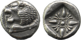 Miletos AR Obol, c. 525-475 BC