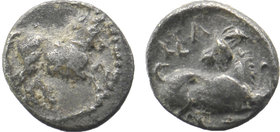 CILICIA, Kelenderis. Circa 425-400 BC. AR Obol