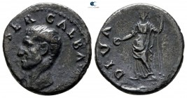 Galba AD 68-69. July AD 68-January 69. Rome. Denarius AR