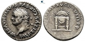 Titus AD 79-81. Struck AD January - June 80. Rome. Denarius AR