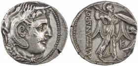 PTOLEMAIC KINGDOM: Ptolemy I Soter, as satrap, 323-305 BC, AR tetradrachm (15.66g), Svoronos-164; Zervos Issue 29, struck ca 311-305 BC, in the name o...