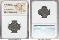 TROAS. Abydus. Severus Alexander (AD 222-235). AE (21mm, 7h). NGC XF. C IMP C M SEV ALEXANDER, laureate, draped, and cuirassed bust right / ABY-Δ-H-N-...