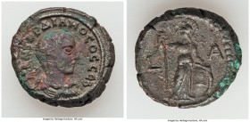 EGYPT. Alexandria. Gordian III, as Caesar (AD 238). BI tetradrachm (22mm, 13.46 gm, 12h). VF, cleaning marks. Dated Regnal Year 1 (AD 238). M ANT ΓOPΔ...