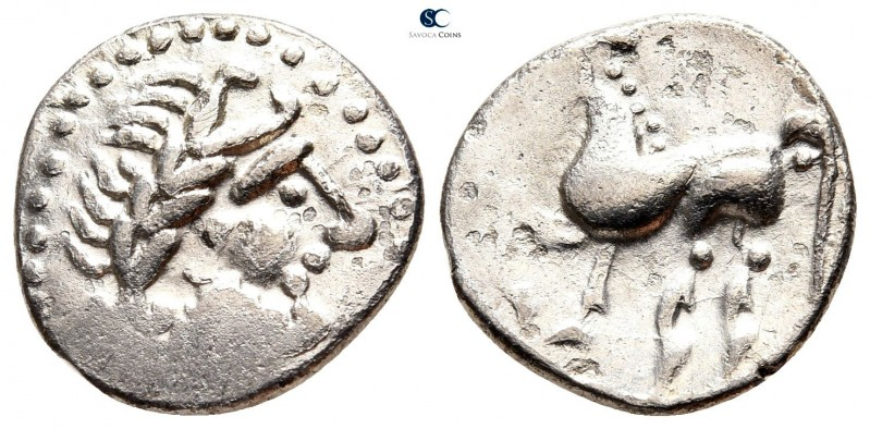 Eastern Europe. Imitation of Philip II of Macedon circa 300 BC. 