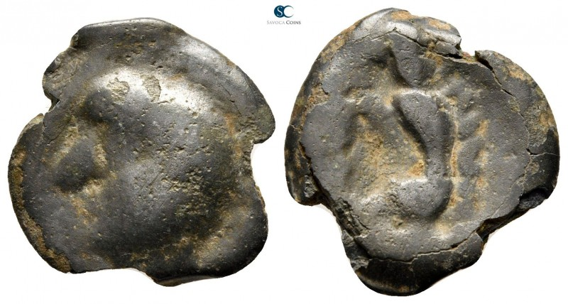 Southern Gaul. Sequani 100-50 BC. 