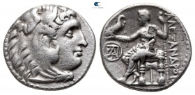 Kings of Macedon. Miletos. Demetrios I Poliorketes 306-283 BC. In the name and types of Alexander III. Struck circa 295/4 BC. Drachm AR