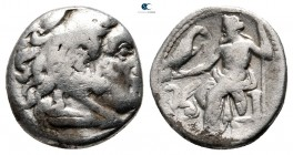 Kings of Macedon. Teos. Philip III Arrhidaeus 323-317 BC. In the name and types of Alexander III. Struck under Menander or Kleitos, circa 323-319 BC. ...