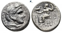 "Kings of Macedon. Lampsakos. Alexander III ""the Great"" 336-323 BC. Struck under Kalas or Demarchos, circa 328/5-323 BC. Drachm AR"