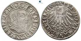 Germany. Duchy of Liegnitz-Brieg. Friedrich II, Duke of Liegnitz-Brieg AD 1488-1547. Groschen AR