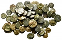 Lot of ca. 70 greek bronze coins / SOLD AS SEEN, NO RETURN!