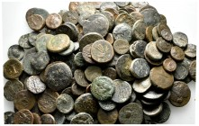 Lot of ca. 200 greek bronze coins / SOLD AS SEEN, NO RETURN!nearly very fine