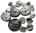 Lot of ca. 18 greek silver coins / SOLD AS SEEN, NO RETURN!nearly very fine