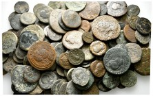 Lot of ca. 200 roman provincial bronze coins / SOLD AS SEEN, NO RETURN!nearly very fine