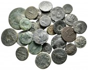 Lot of ca. 30 roman provincial bronze coins / SOLD AS SEEN, NO RETURN!very fine