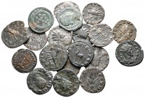 Lot of ca. 19 roman bronze coins / SOLD AS SEEN, NO RETURN!