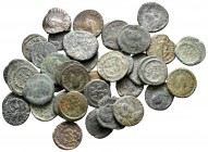 Lot of ca. 38 roman bronze coins / SOLD AS SEEN, NO RETURN!very fine
