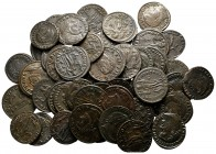 Lot of ca. 50 late roman bronze coins / SOLD AS SEEN, NO RETURN!good very fine