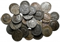 Lot of ca. 30 late roman bronze coins / SOLD AS SEEN, NO RETURN!very fine