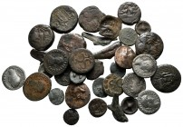 Lot of ca. 35 ancient coins / SOLD AS SEEN, NO RETURN!very fine